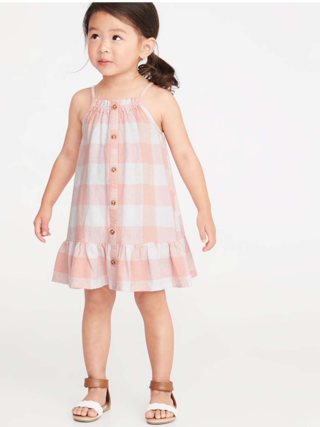 - Caroline will be wearing this all spring and summer. It comes in 2 other patterns too. Gosh girl clothes are fun!Find it here.