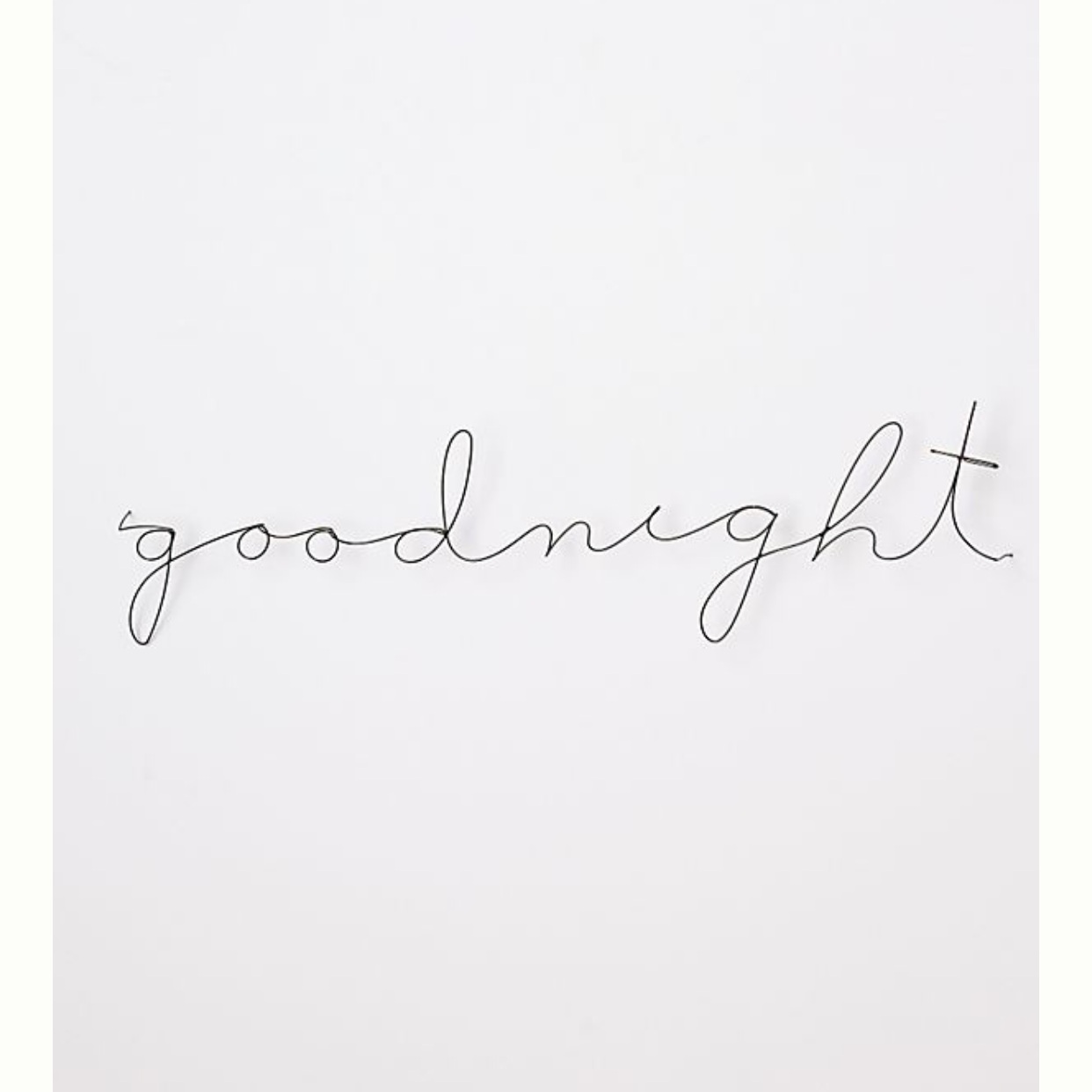 - I placed this above our bed this week and I am in love! It's understated and so sweet.Find it here.