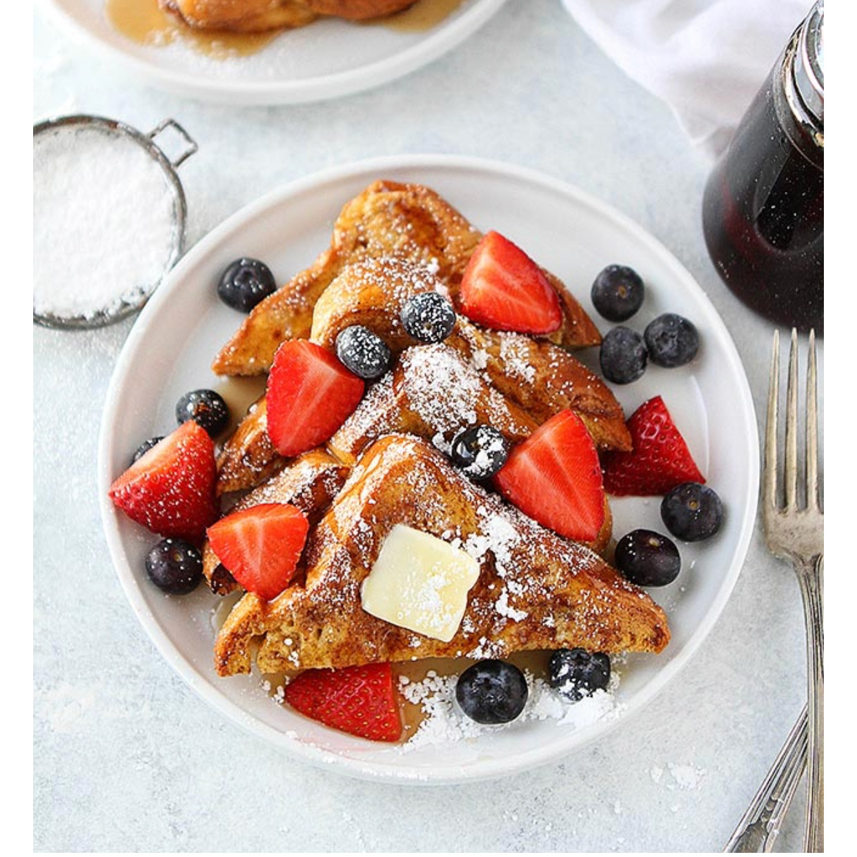 - Email this recipe to your hubby for Mother's Day breakfast in bed! You can't go wrong with classic french toast.Find it here.