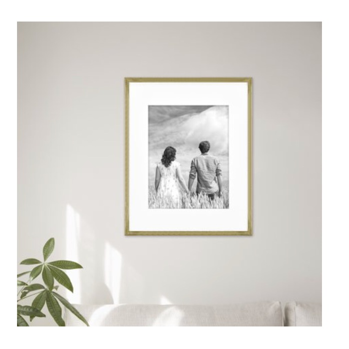 - Our living room gallery wall is in the works and this frame is perfect! It's affordable too!Find it here.