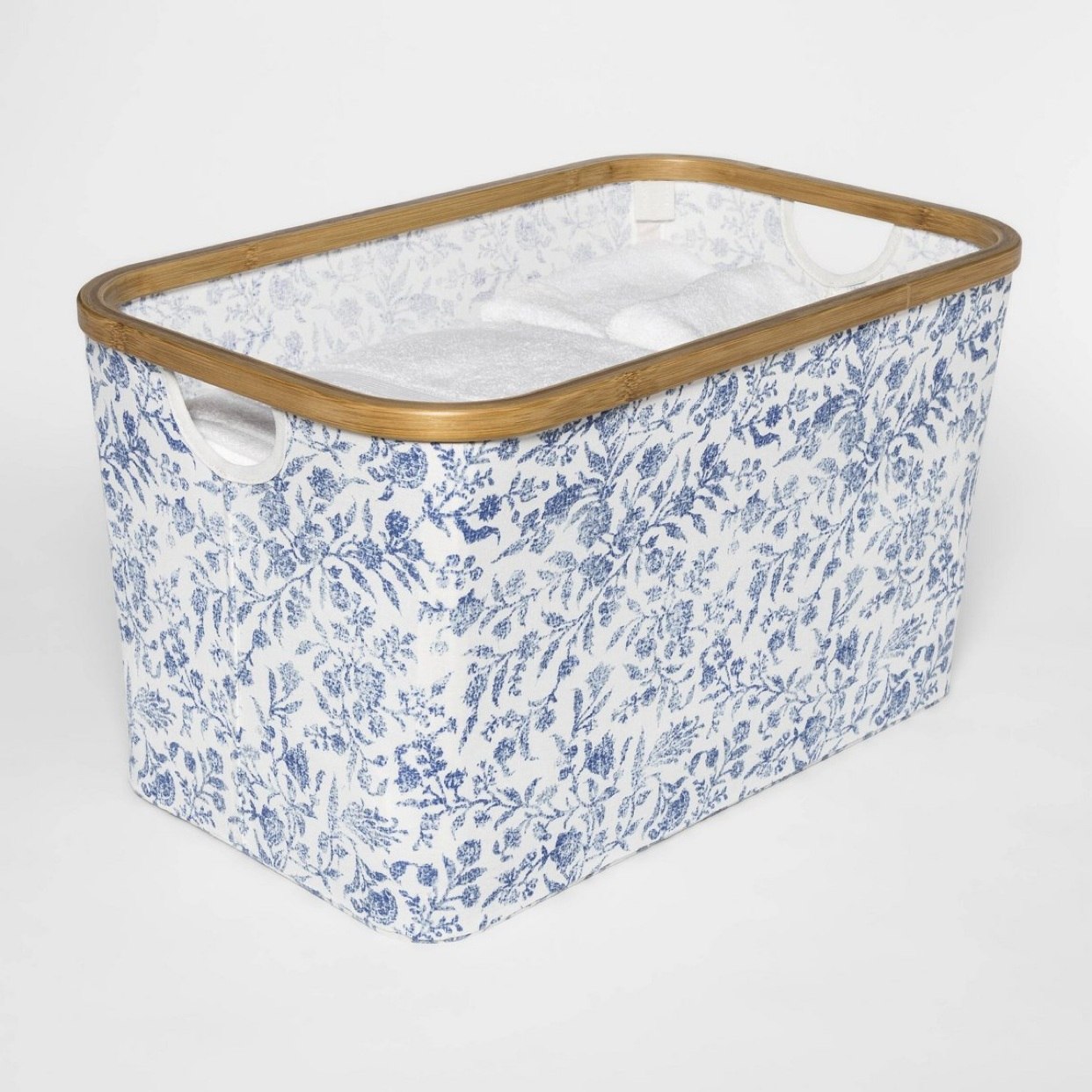 - I'm a believer that storage solutions should be pretty and how pretty is this bin?Find it here.
