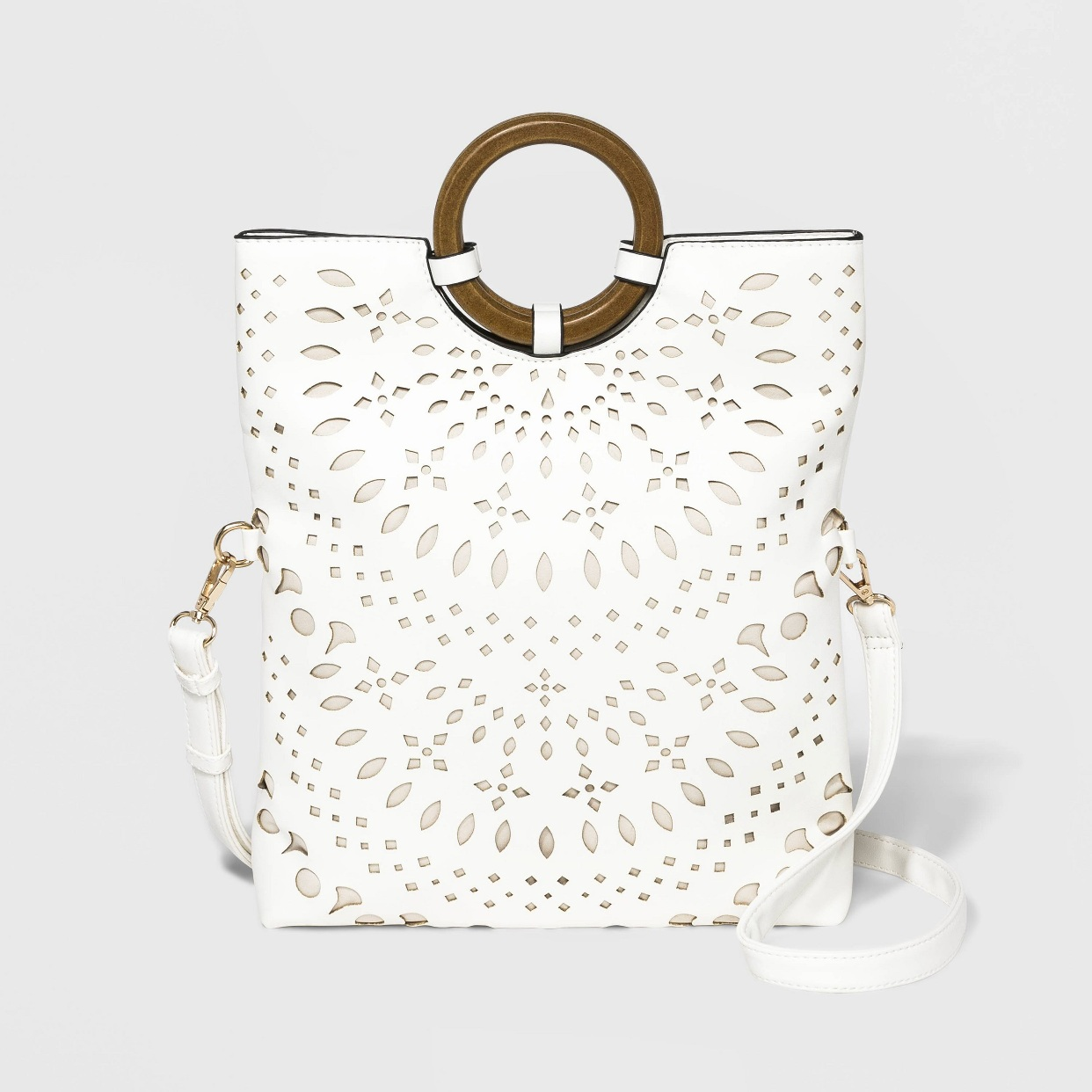 - My new favorite girl's night bag! Y'all! You can wear it two ways! And if I'm being honest, It's big enough to put some diapers, wipes, and a sippy cup in when running around with the kiddos.Find it here.