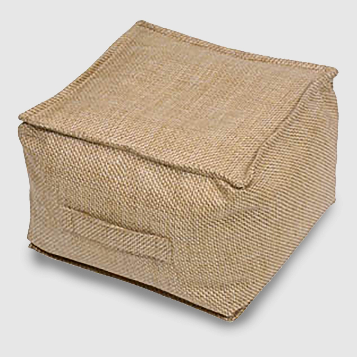 - This is on our deck right now, but I'll be using it indoors too! Who doesn't love a pouf?! It's on sale right now too!Find it here.