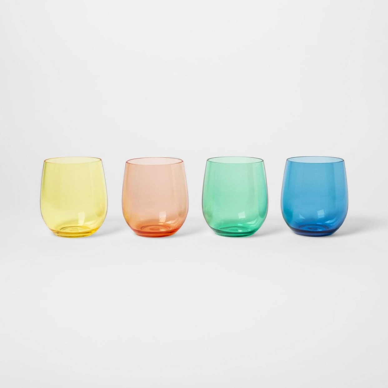 - Summer is here and so are these super fun wine glasses. 4 for $10! Would make a super cute hostess gift!Find them here.
