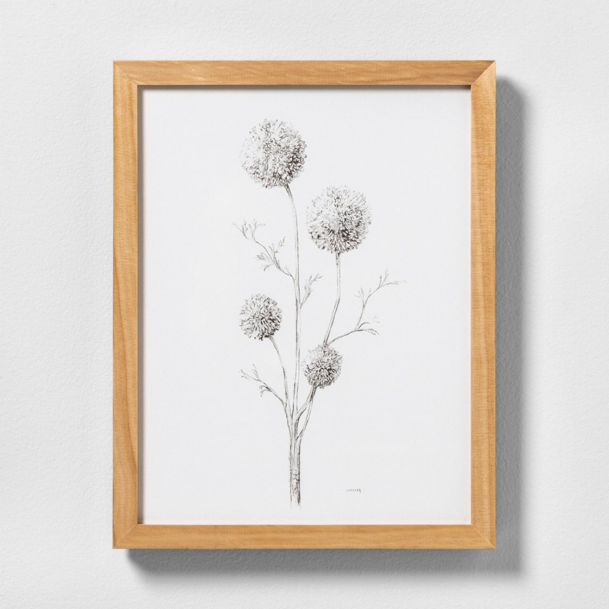 - Love a neutral wall art print! How pretty is this one??Find it here.