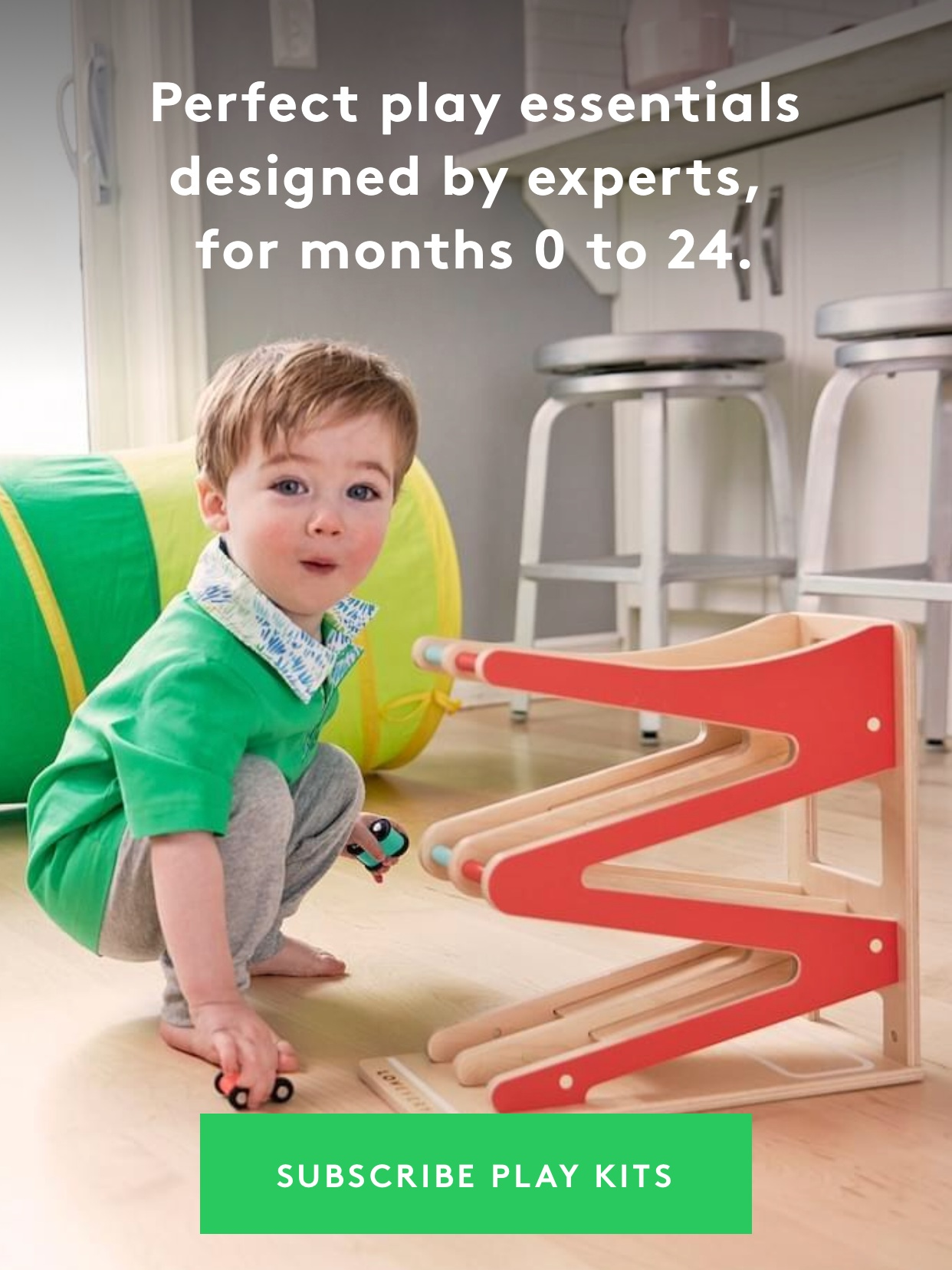 - One of 2020's Time Magazine best inventions! An aesthetically pleasing monthly toy subscription for ages 0-2! Would make a great gift!Find it here.
