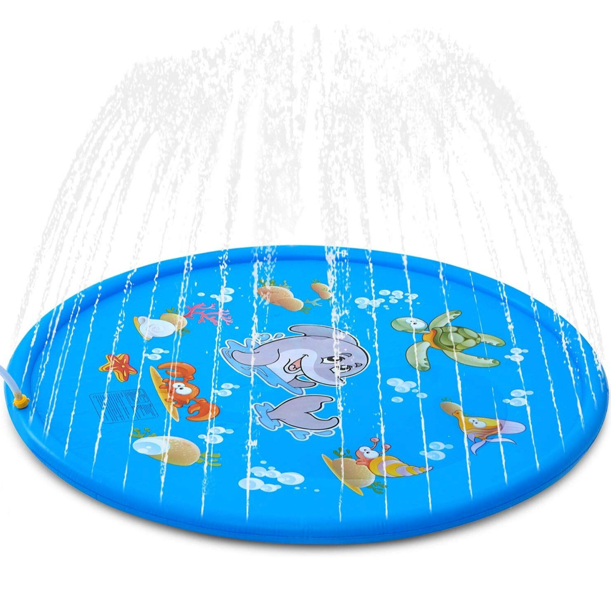 - This splash pad is only $21 and we loved it at Caleb and Caroline's birthday party!Find it here.