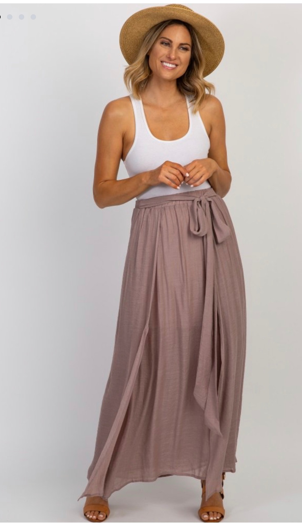 - Love a maxi skirt!Find it here.