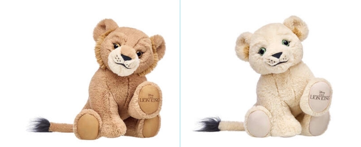 - Build-a-Bear just released the sweetest Lion King collection! I took Caroline this week to pick one out.Find it here.