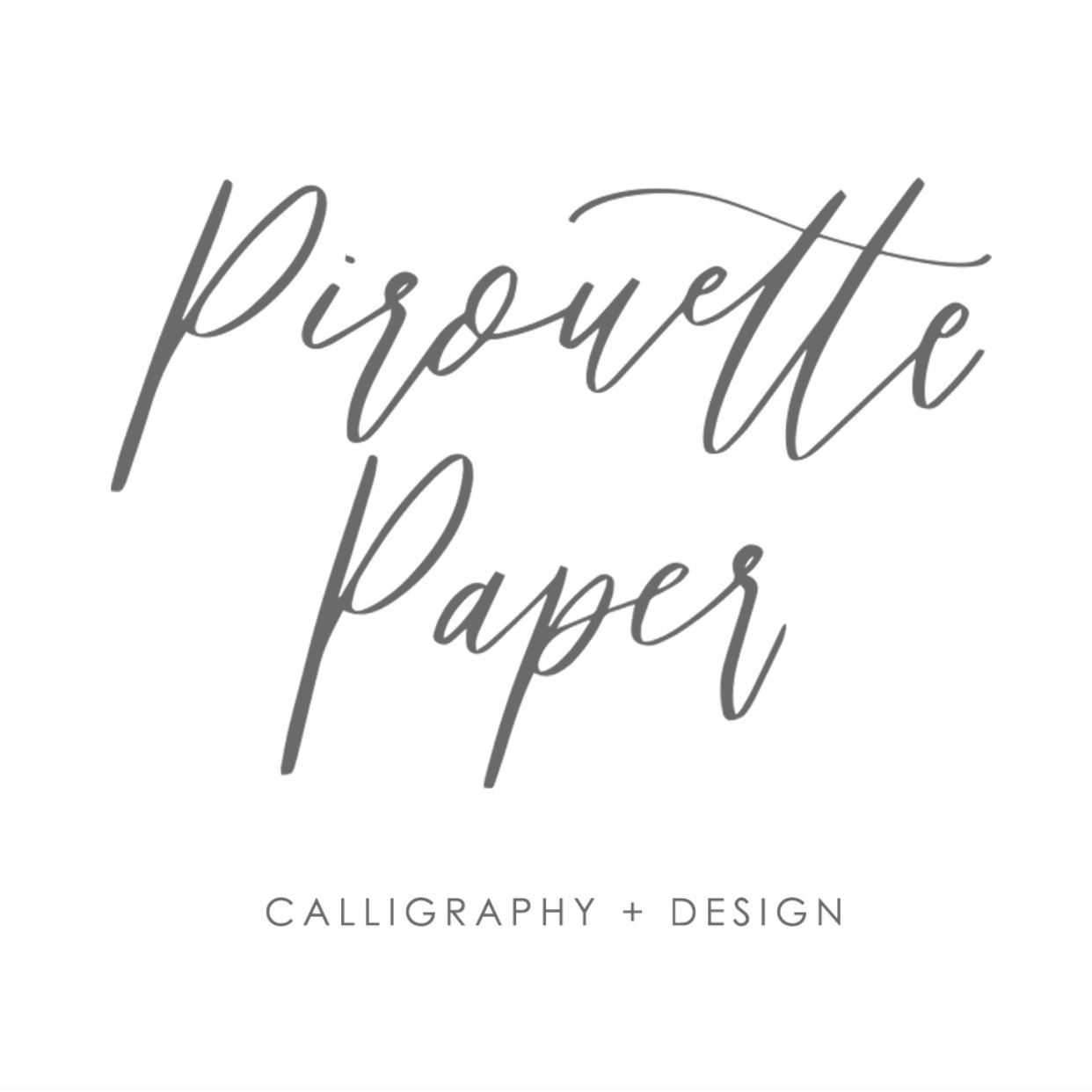 - If you follow me over on IG, you'll know I've talked about Pirouette before. Kaylyn creates bespoke wedding invitations and signage and really, all sorts of things. Not only is her work incredible her streamlined process is my favorite thing. I'm excited to work with her in a couple of months and wanted to share her with y'all on here today! She also has an easy to shop page!Find her here!