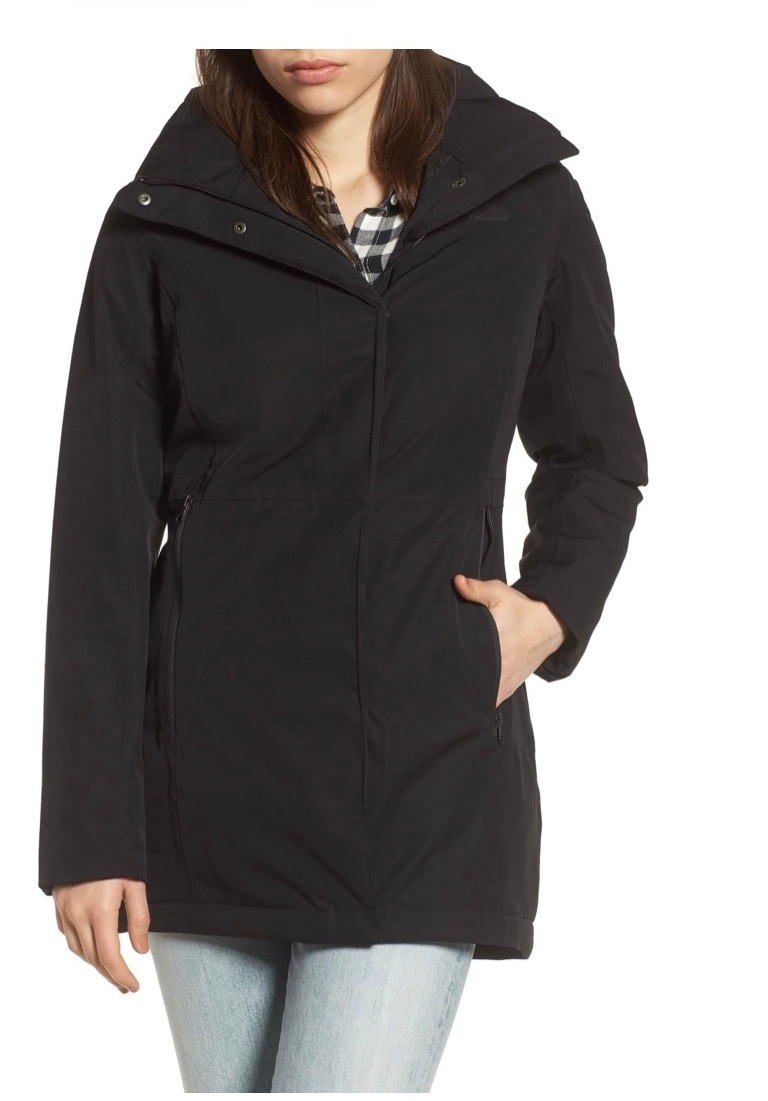 - Such a great jacket for fall! It has a removable hood too!Plus it's on Anniversary sale through Sunday!Find it here.