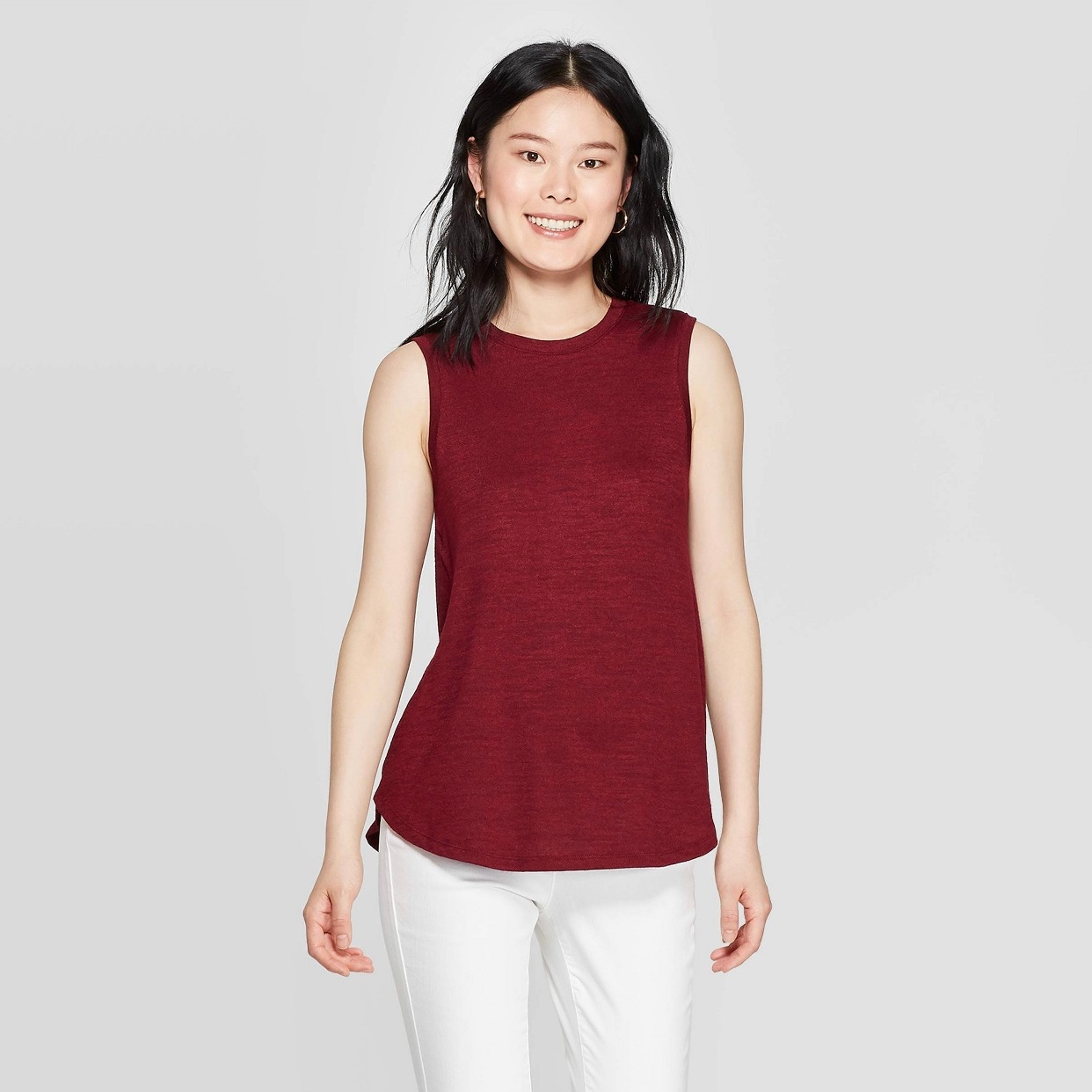 - Love the length and material of this tank! Lots of colors too! How pretty is this wine color for fall?Find it here!