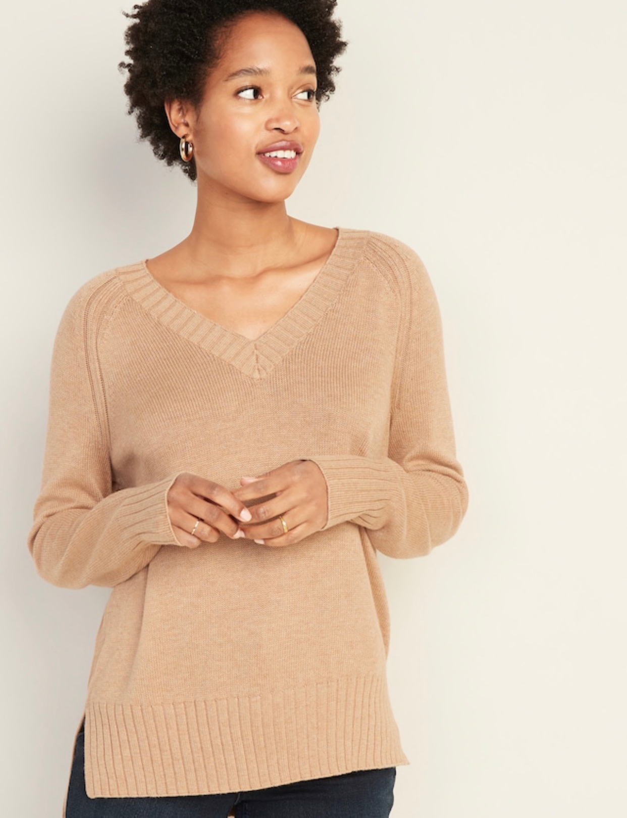 - Can't go wring with a classic fall sweater!Find it here.
