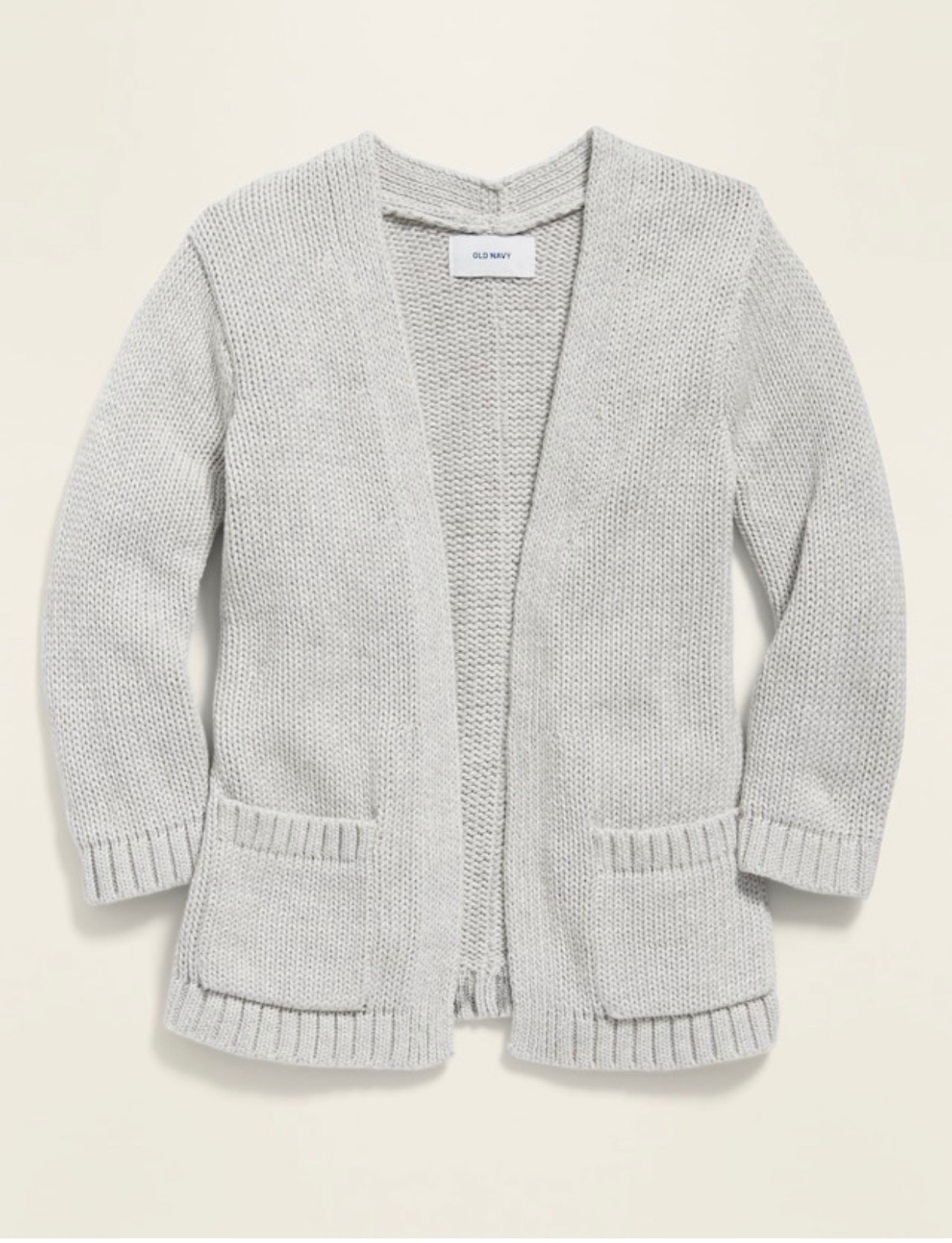 - Caroline wore this exact cardigan almost every day last fall and winter so I bought her another one in her new size for this upcoming cold season.Find it here.