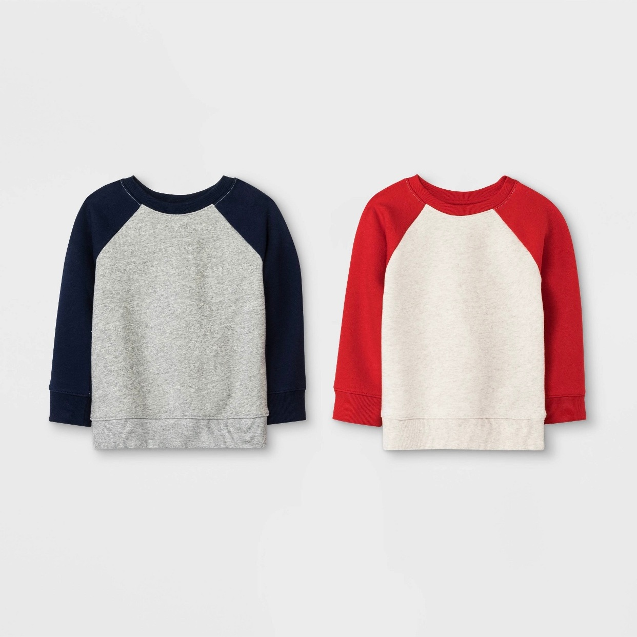 - Such a great deal on this 2 pack of sweatshirts. I'm all about minimalistic classic style.Find them here.