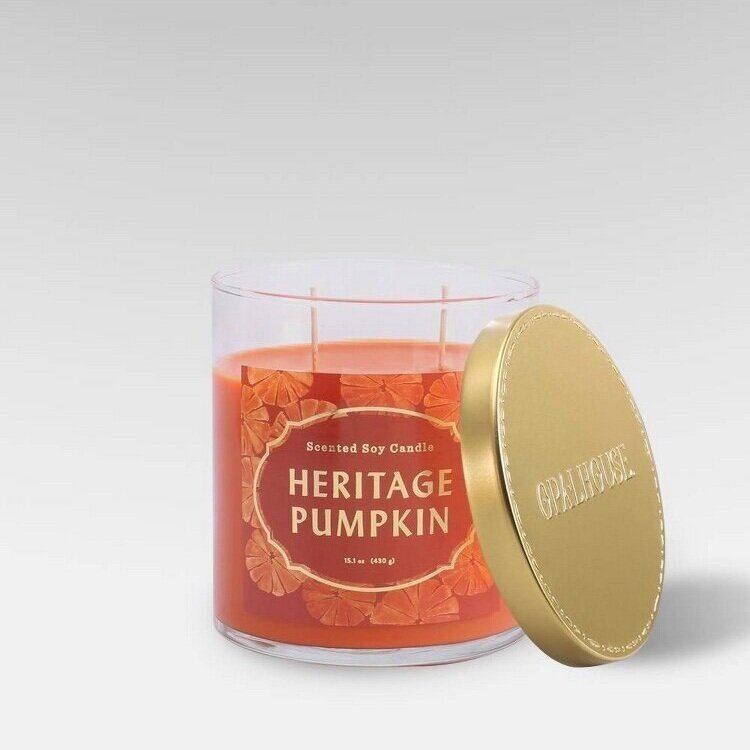 - These candles are SO good! I had a hard time picking one! Heritage Pumpkin is a favorite right now.Find it here.