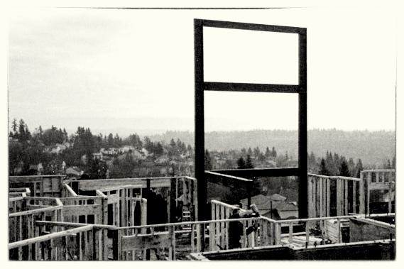 Giant Steel Moment Frame - West Linn