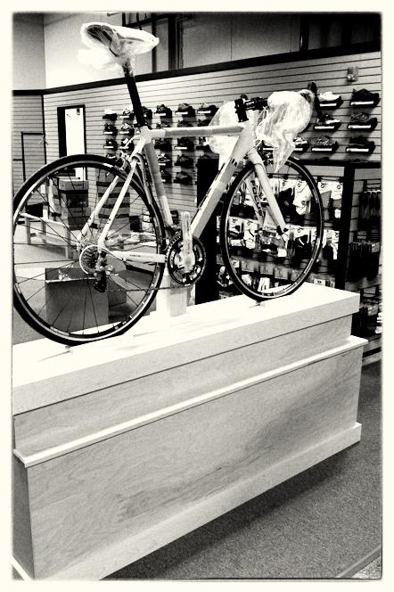 Custom Show Bike Stand - Portland