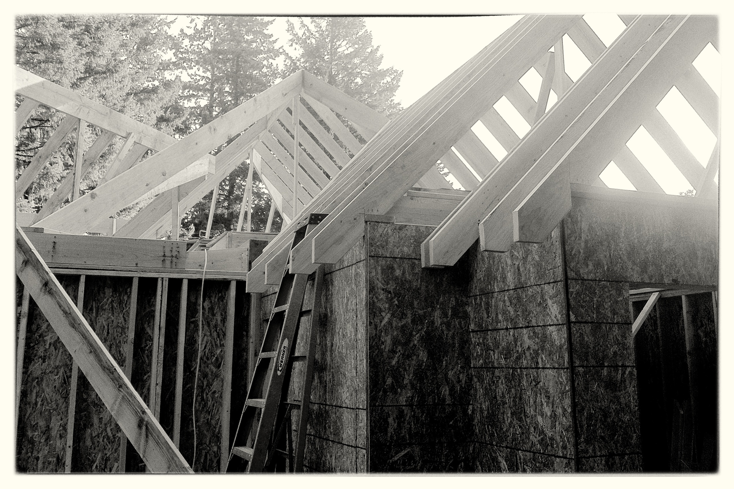 Framing a Craftsman Style Home - Lake Oswego