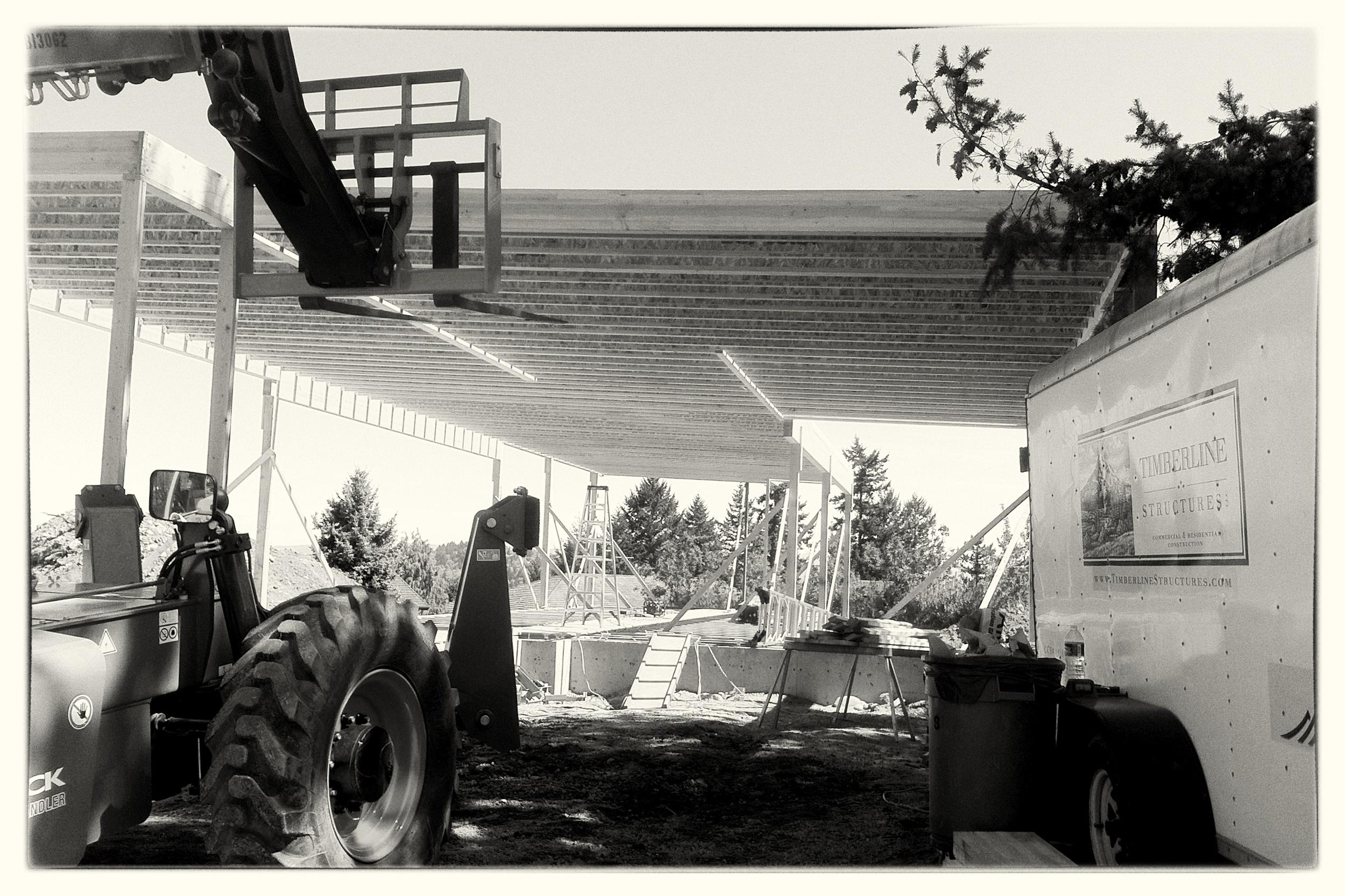 Sloped Roof Framing - Portland
