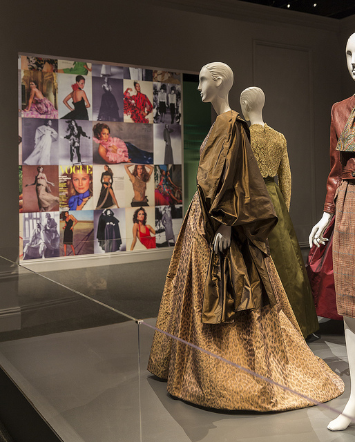 Oscar de la Renta Exhibition at the George W. Bush Presidential Center.
