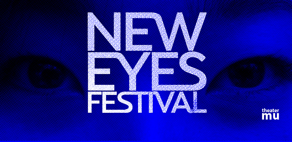 2018. New Eyes Festival final promotional image with logotype.