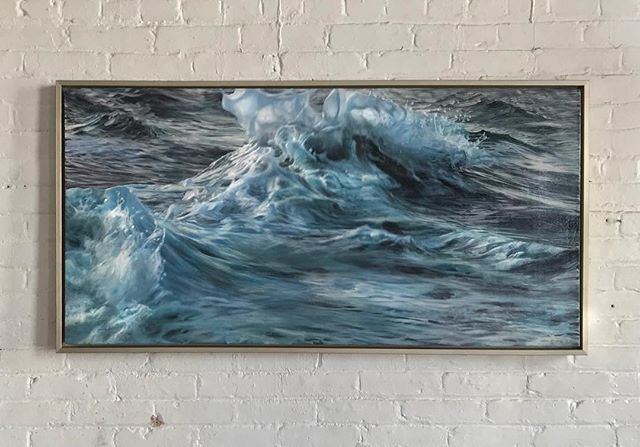 Hey New England friends... if you are in the Connecticut area stop by and see my work at the Mystic Museum of Art. Lovely little museum on the .. water. *finger gun shoot* opening this Thursday. . . . . #oilpainting #oceanpainting #oceanart #seascape #waveart #sea #ocean #instaart #painting #realism #oiloncanvas #art #water #wave #painting #beach