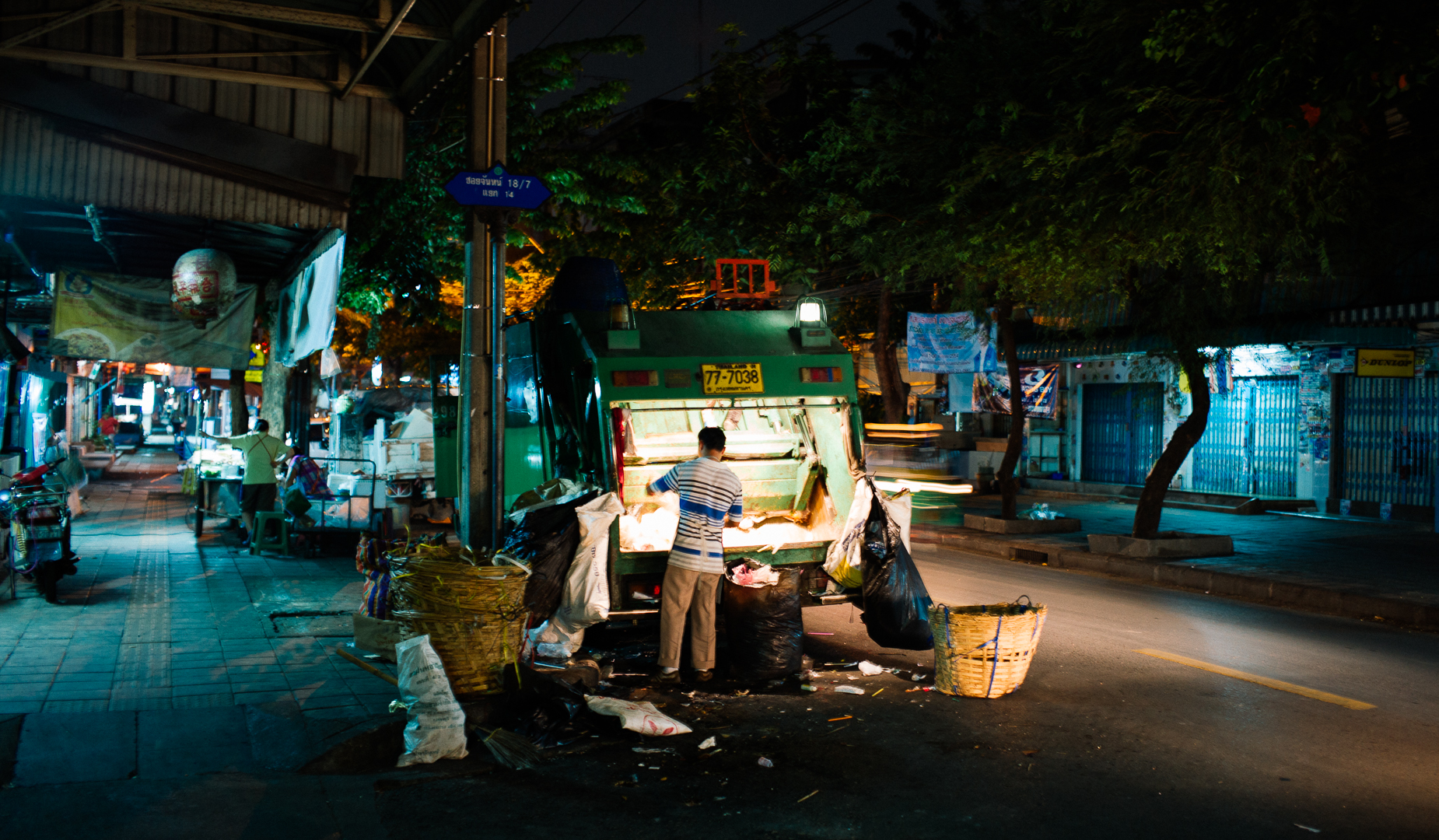 Bangkok city cleaner
