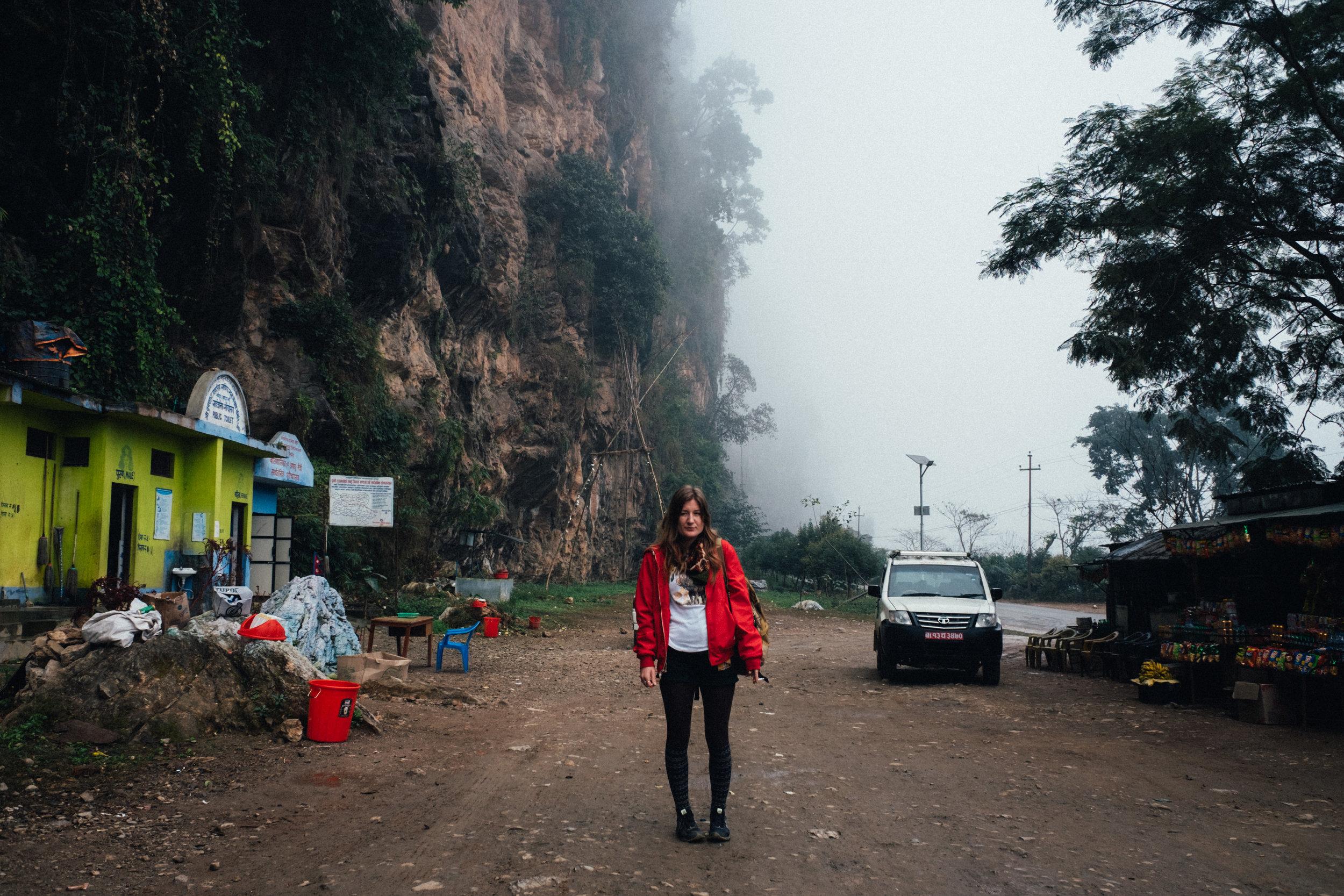 A ride through misty mountains.