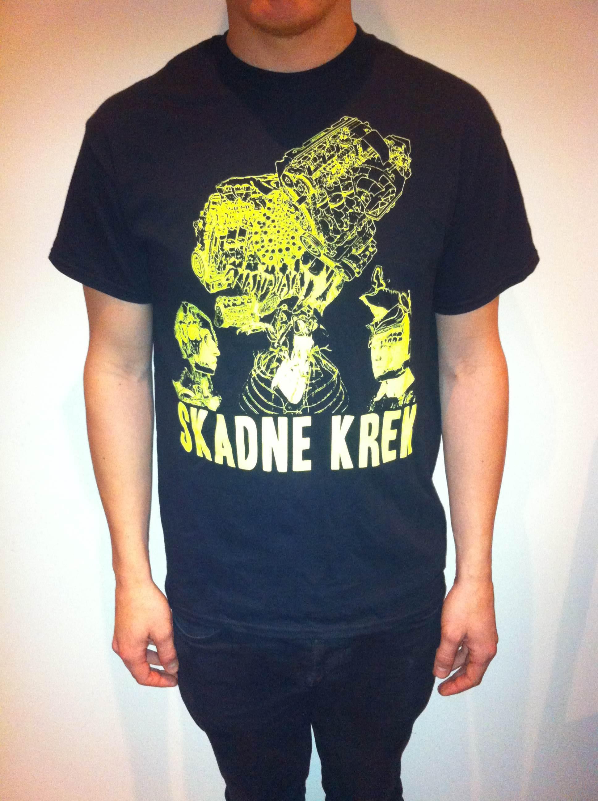 Skadne Krek tshirt  100 NOK/10€ + shipping  available colours: black, dark grey  sizes: S, M, L, XL