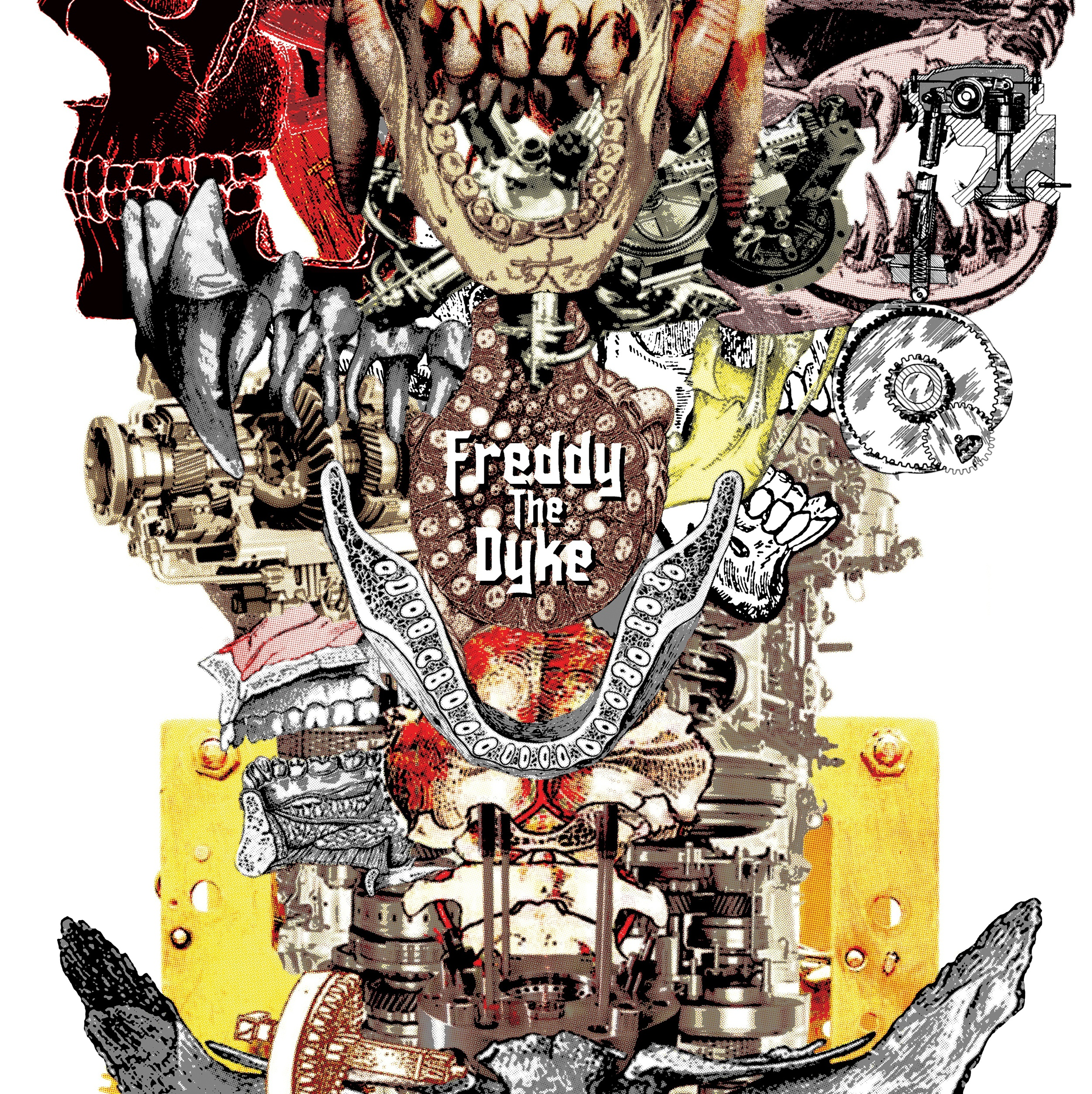 SKULP02 Freddy The Dyke LP Released 14.05.14 - 250 copies