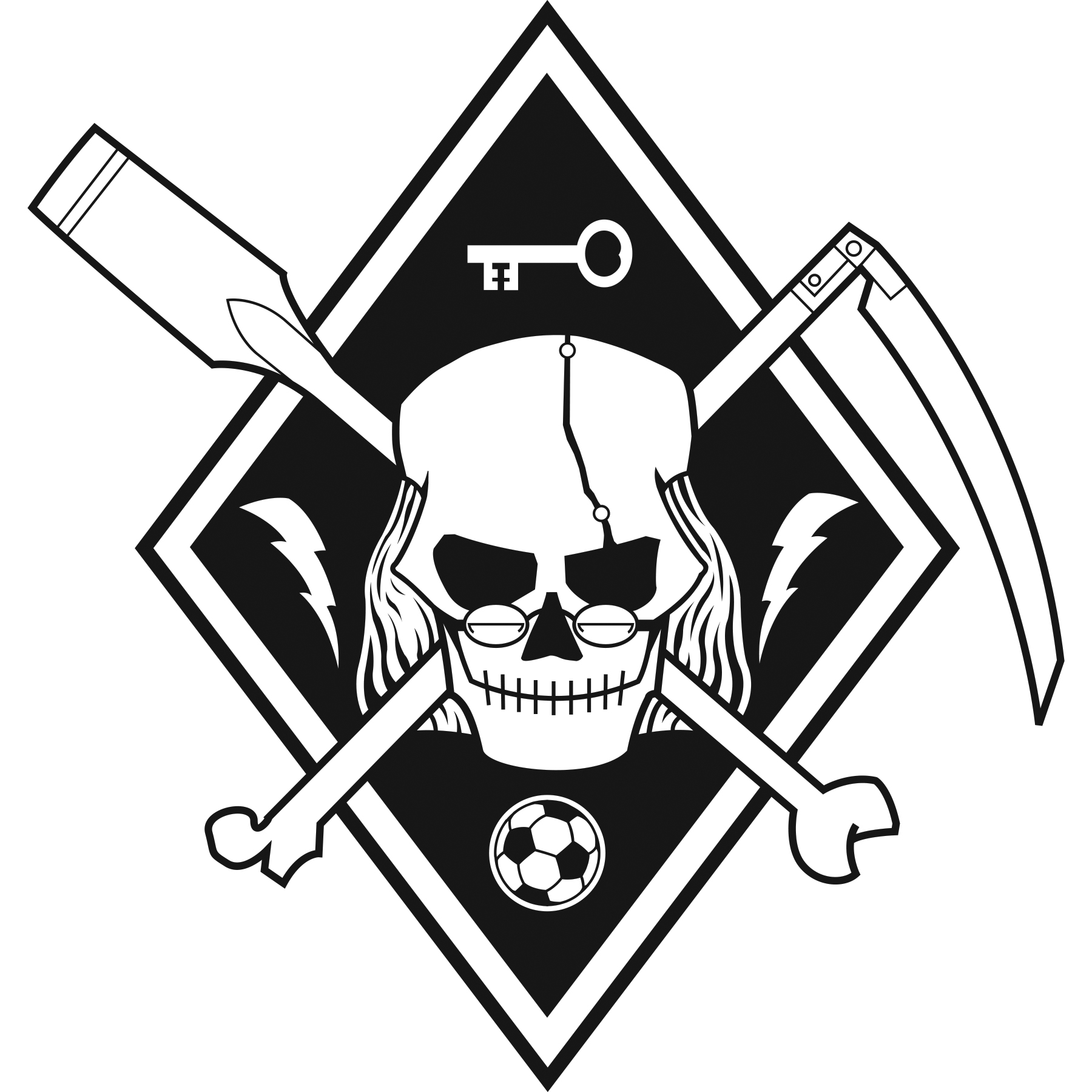 Secondary Logo - Black & White