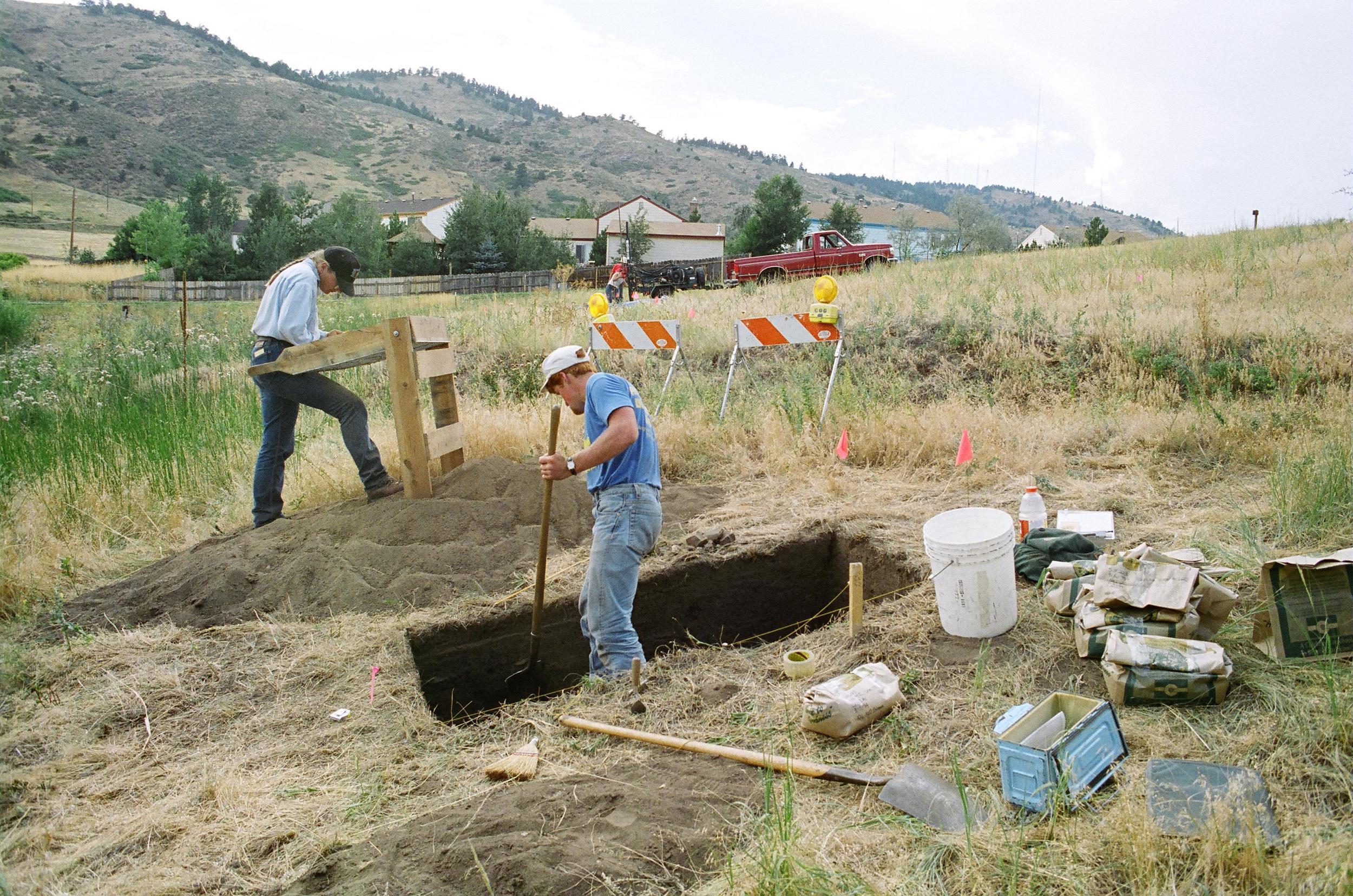 Evaluative Test Excavation - Magic Mountain Testing (1994)
