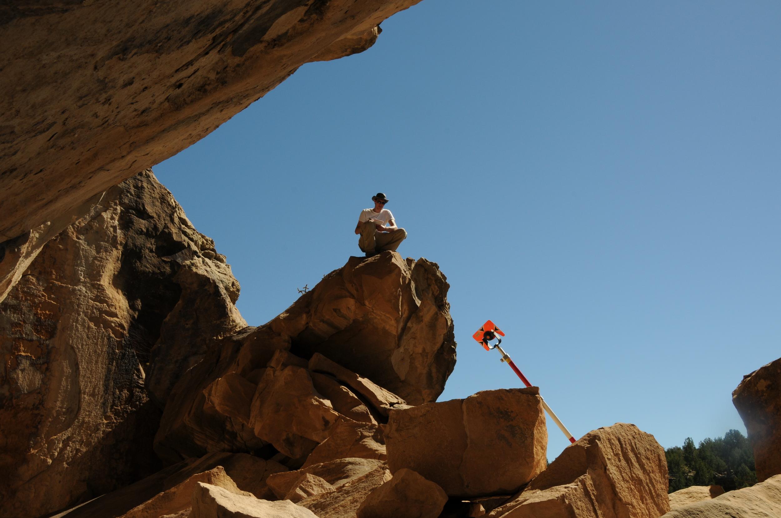 Trinchera Cave Mapping (2013)