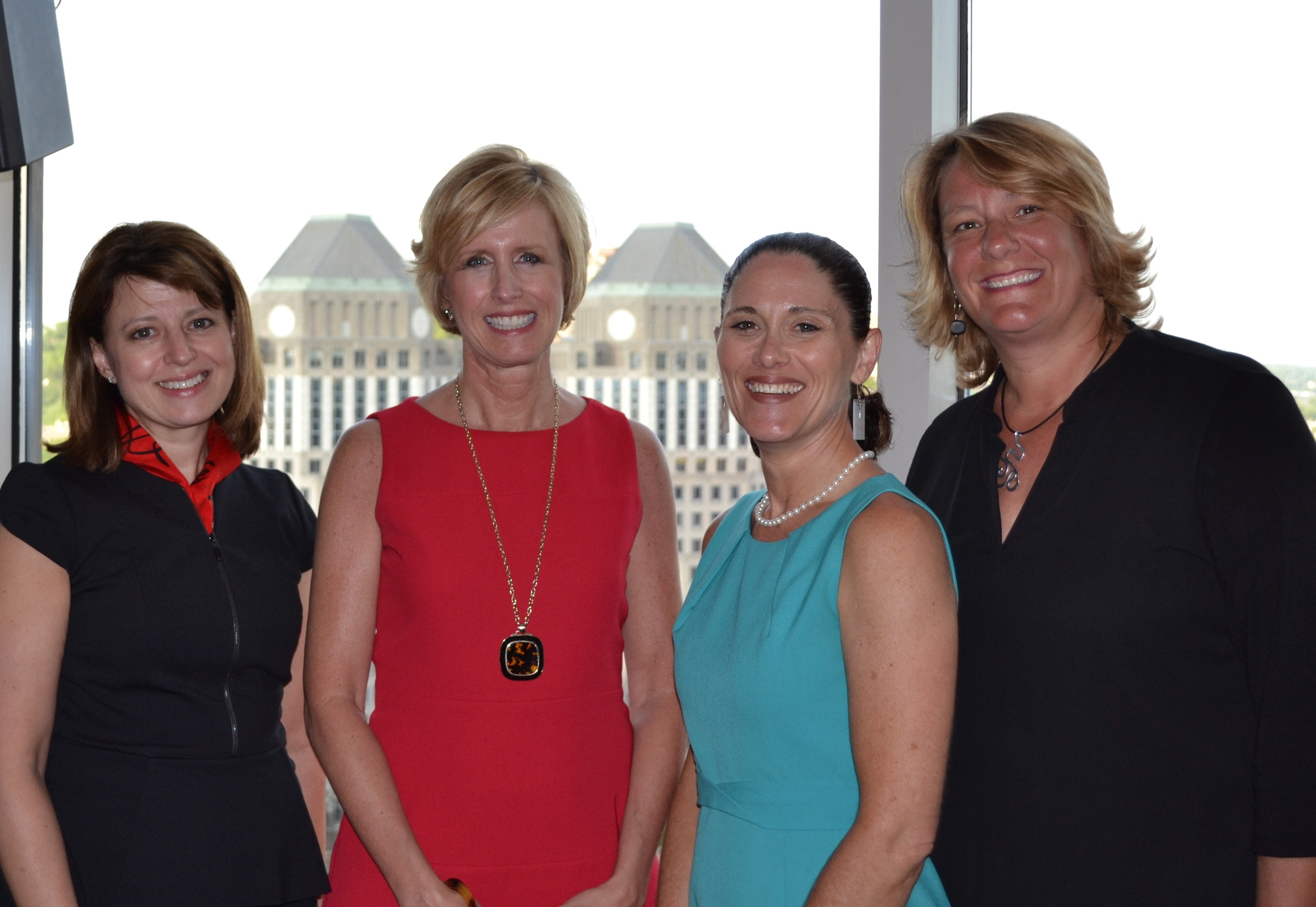 Pictured above: Lee Stautberg, Tiffany Adams, Pam Weber, and Nancy Graeter
