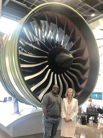 Jamil Grant, Advanced Lead Engineer/Technologist at GE Aviation.