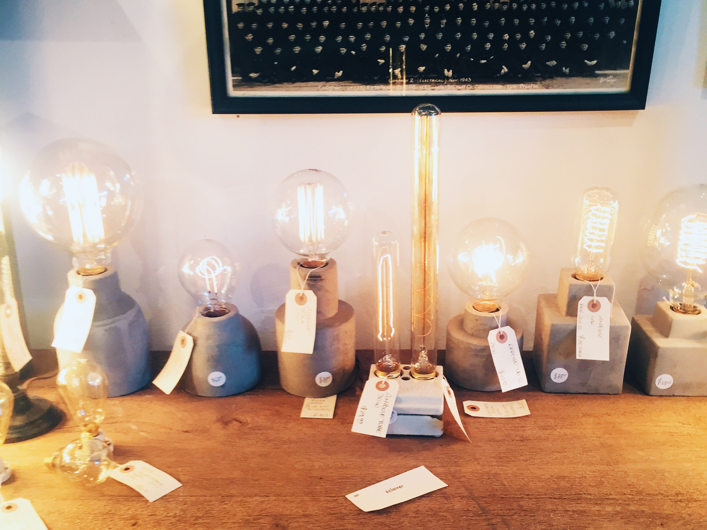 Cool lights at  Style Labo .