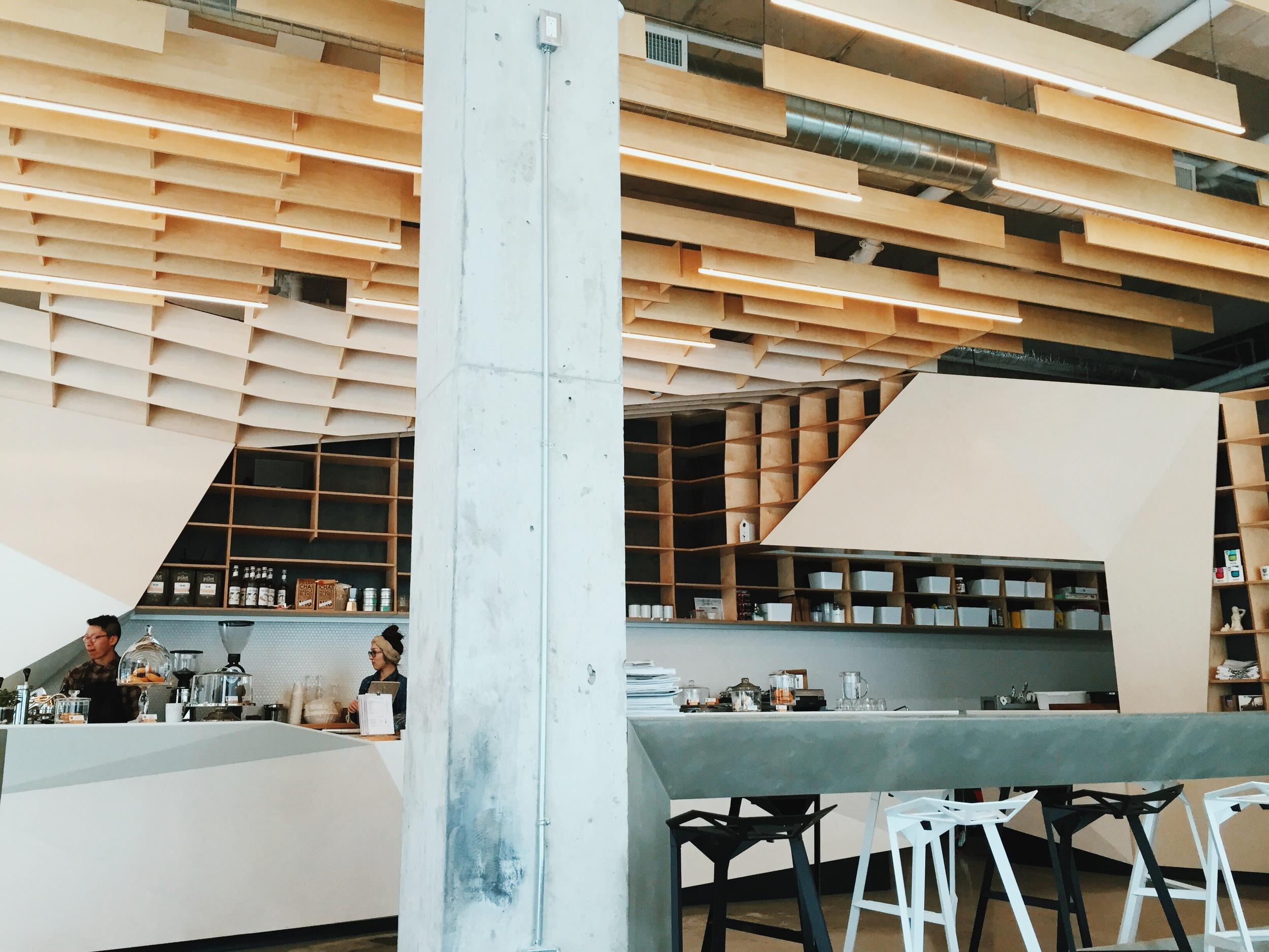 ØDIN, a new Scandinavian cafe in Toronto. Check out Lana's blog  for more photos.