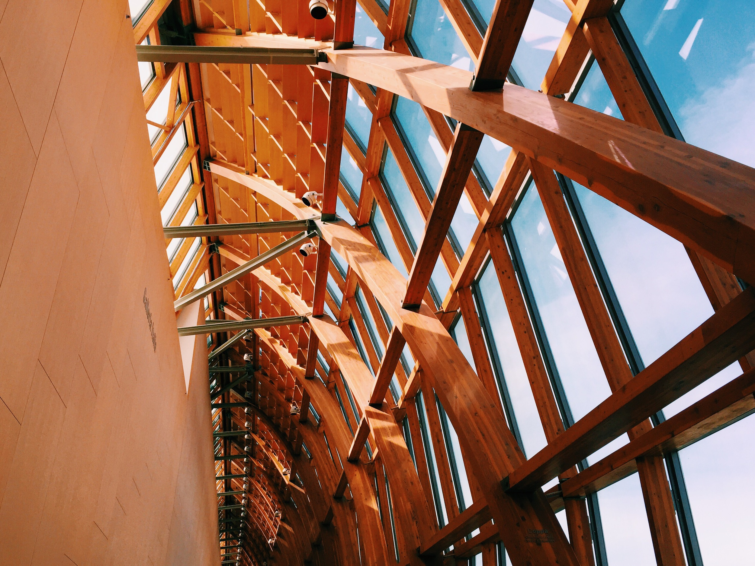 Architectural details in the AGO.
