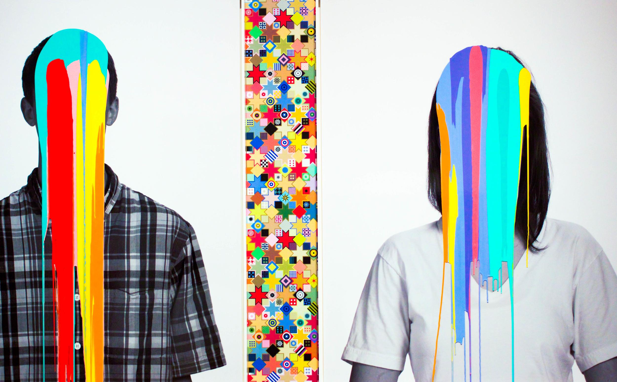 Brilliant Information Overload Pop Head &Liquid Video Game Pop Head, 2010