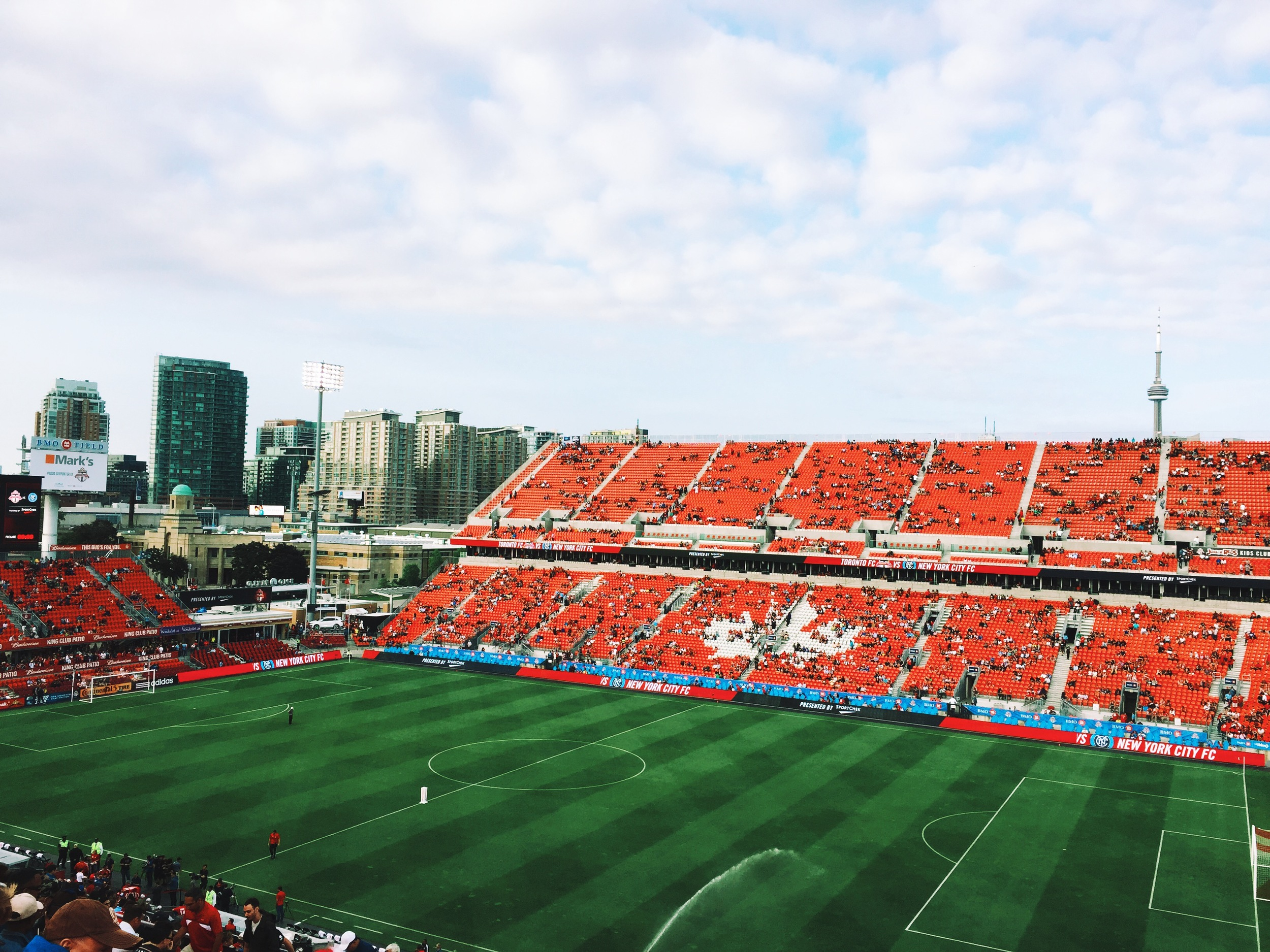 The first TFC game of the summer!