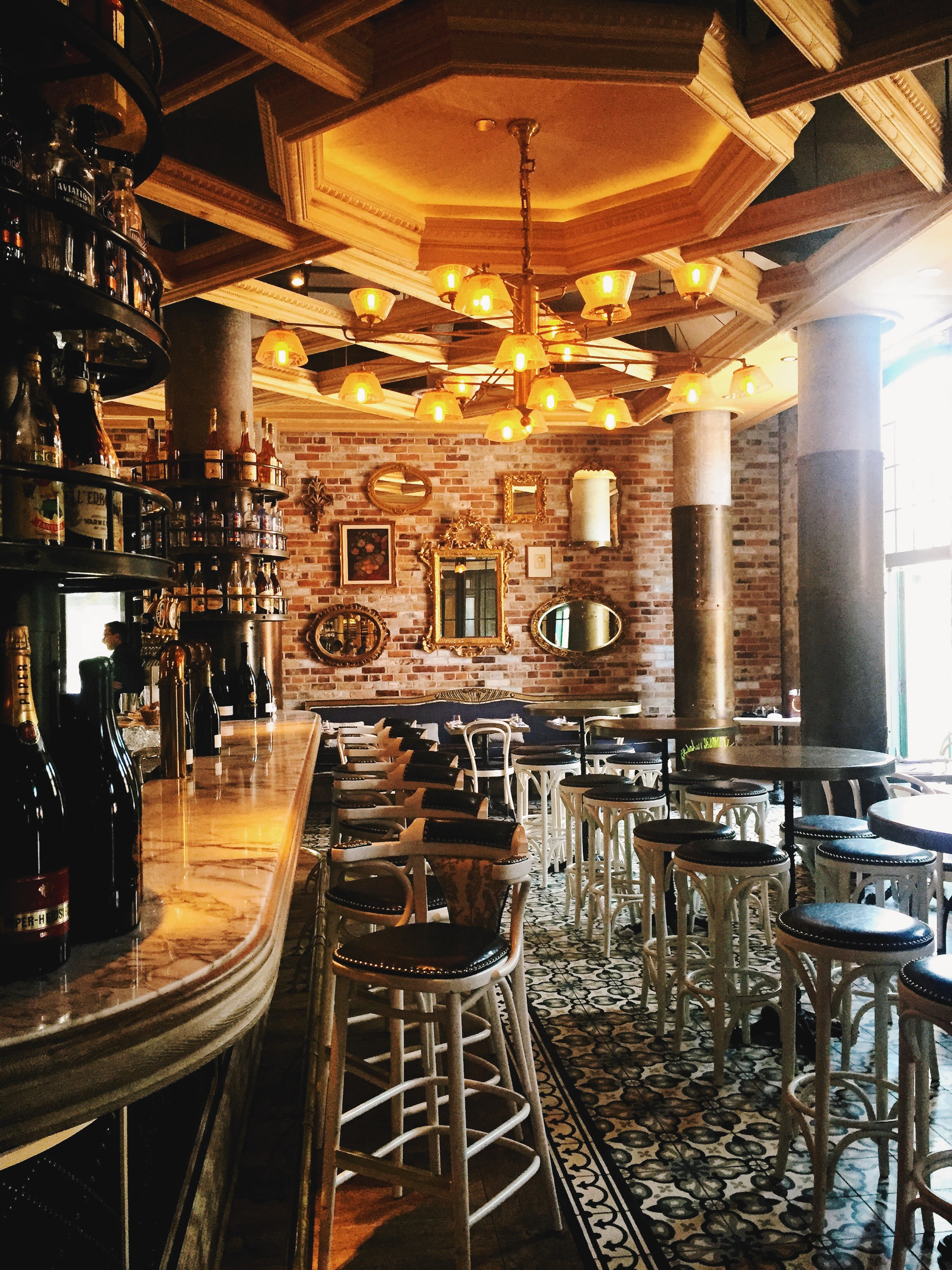 Parisian-inspired brunch at the Distillery District's  Cluny .