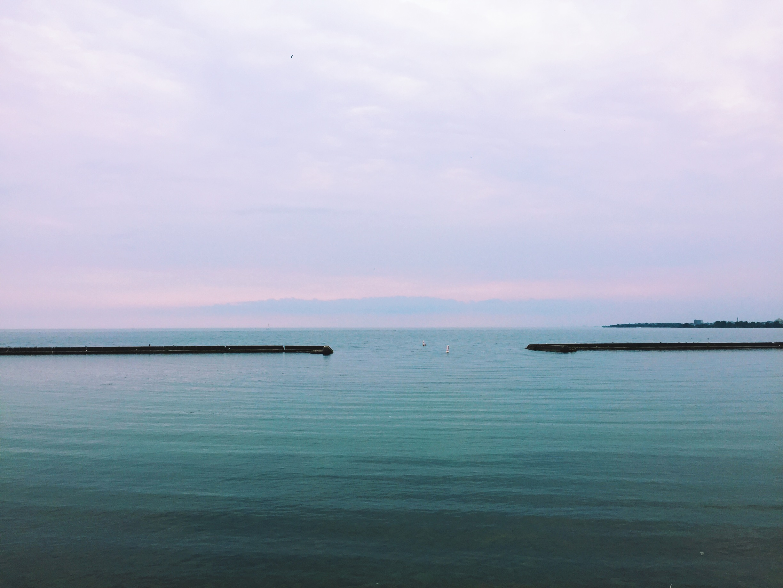 A late August wedding overlooking Lake Ontario.