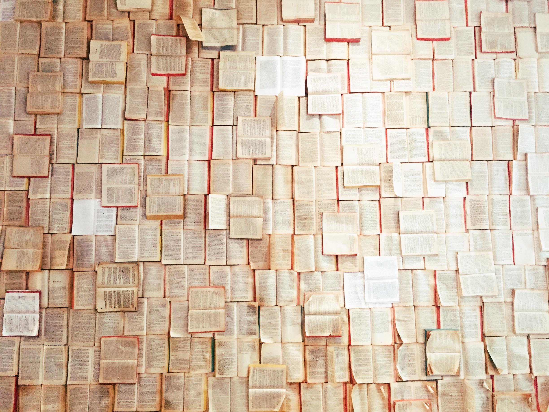 Wall art at Fika.