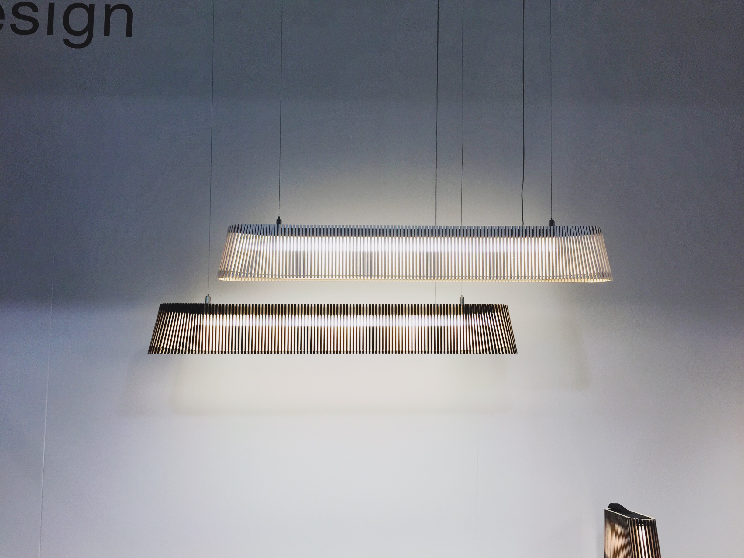 Stunning lighting by Secto.