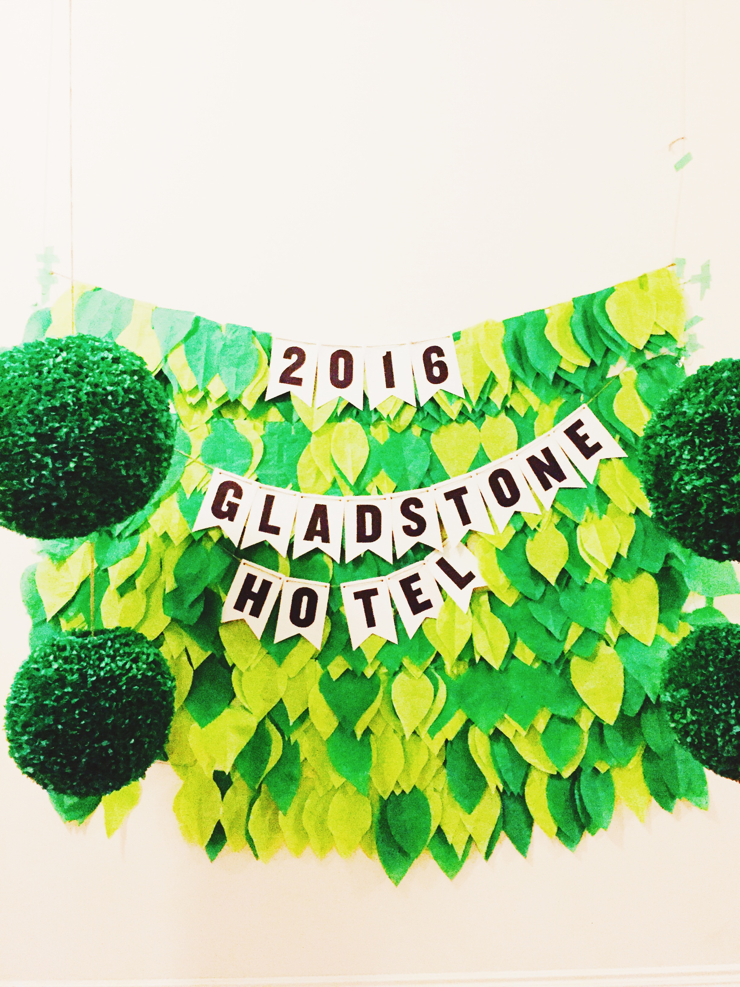 New Year's at the Gladstone.