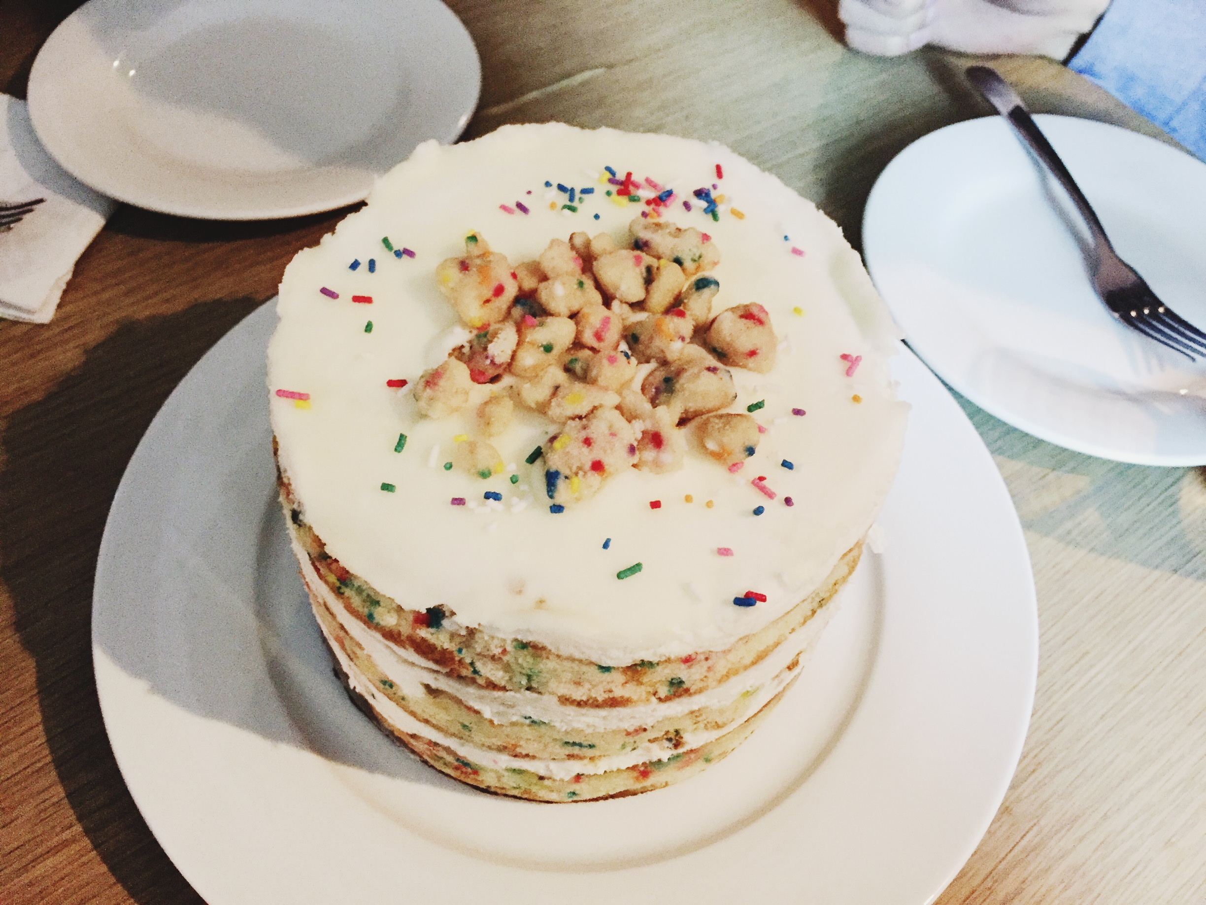 Birthday Layer Cake from Momofuku Milk Bar.
