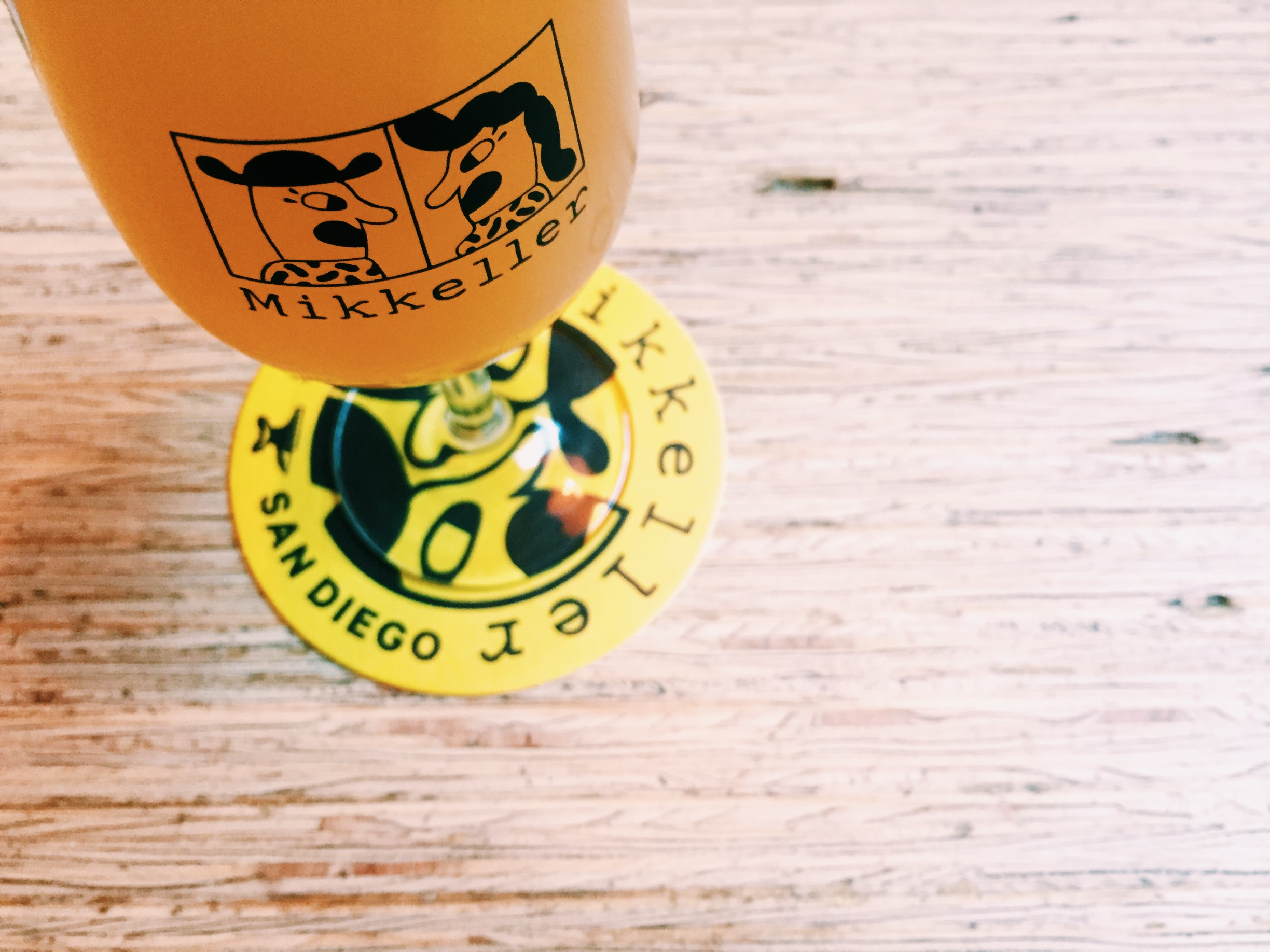 Mikkeller beer is fantastic; this was one of many trips to the Stefansgade location.