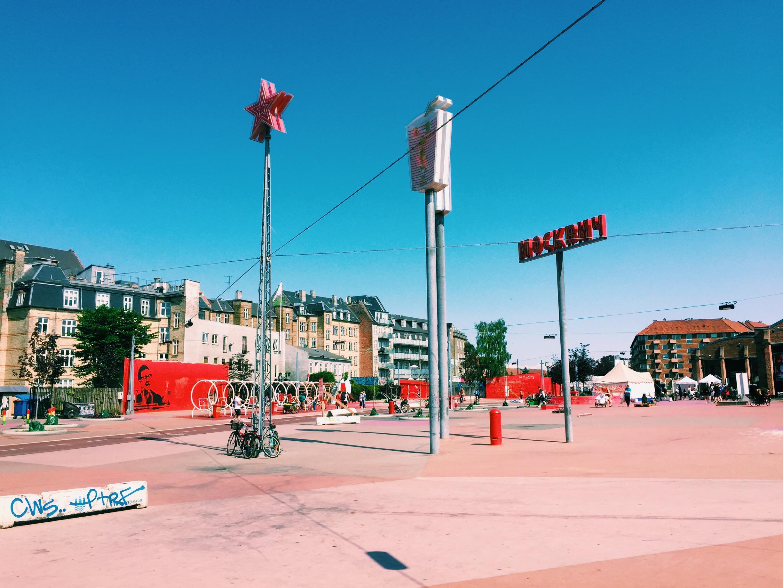 Superkilen is an award-winning urban park in Nørrebro. A great work of landscape architecture.