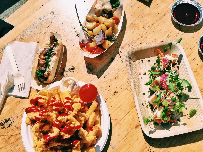 Our eats from  Copenhagen Street Food .